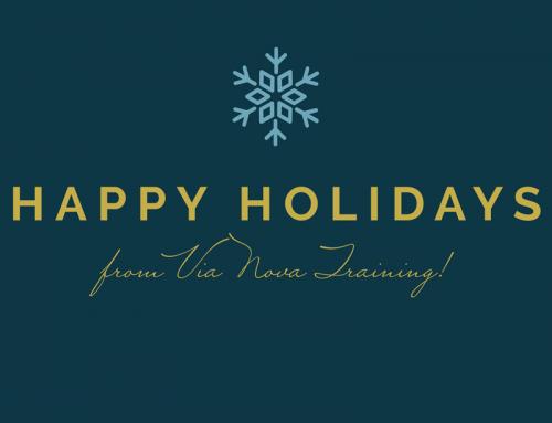 Happy Holidays from Via Nova Training ❄️